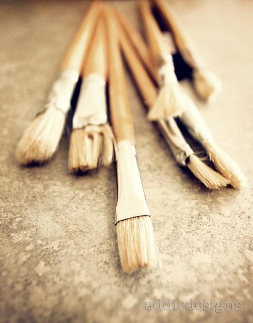 paintbrushes photo
