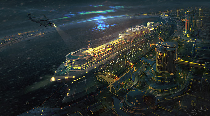 Here Be Dragons Fantastical Realms From Concept Artist