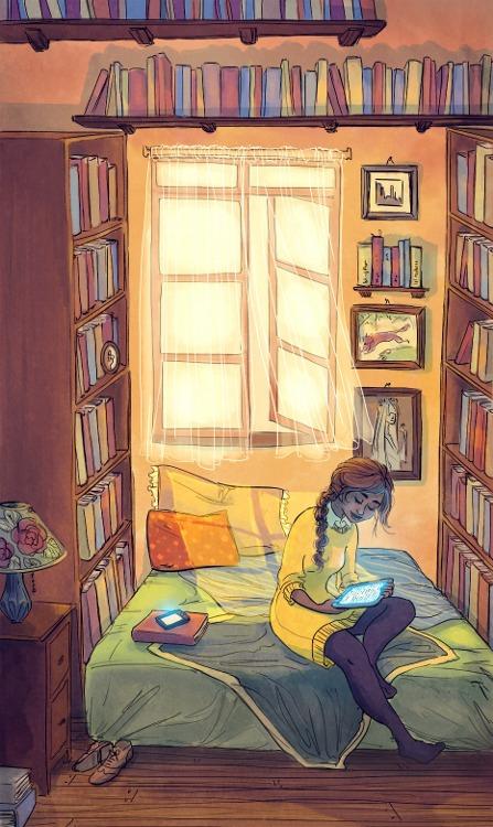 readingillustrationmagic