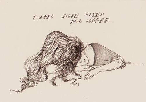 sleep and coffee