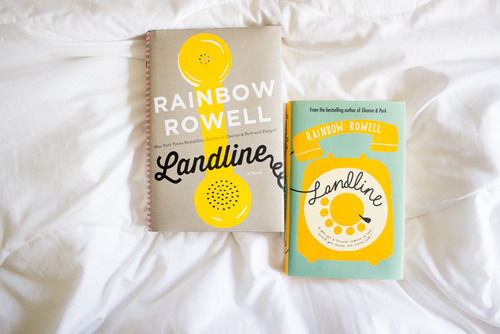 rainbow rowell landline book cover