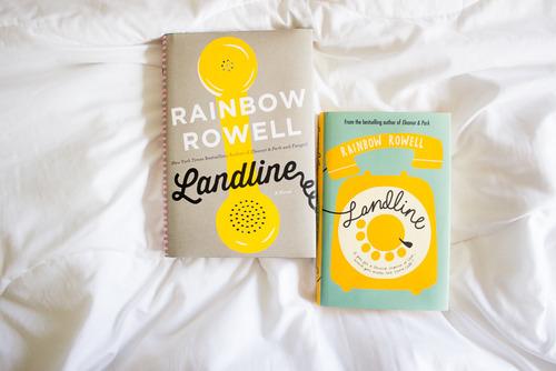 rainbow rowell landline book cover