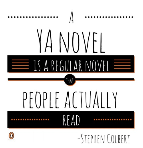 ya novel stephen colbert