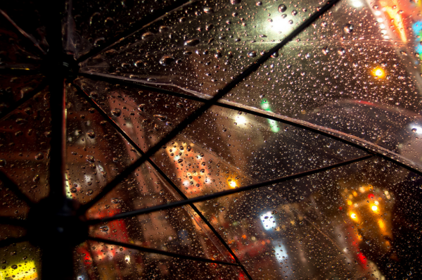rain clear umbrella photography