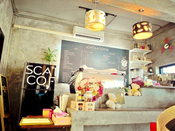 scatola coffee
