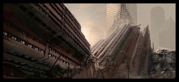 post apocalyptic landscape