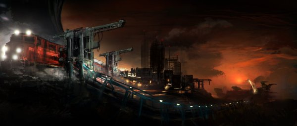 shipment_by_nick_foreman-dystopia train