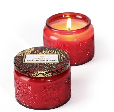 voluspa goji tarocco orange candle review