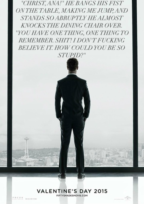 fifty shades of grey quote movie poster