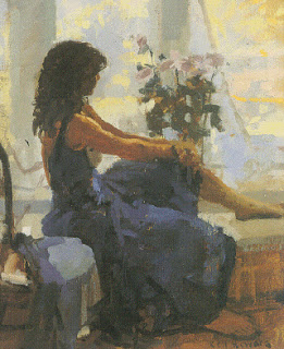 ken howard, the blue dress