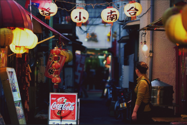 tokyo alley photography