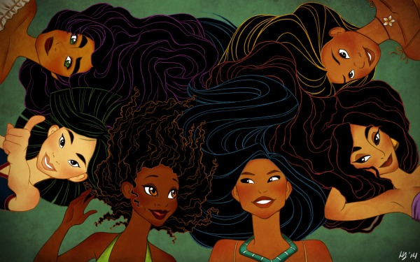disney princesses art