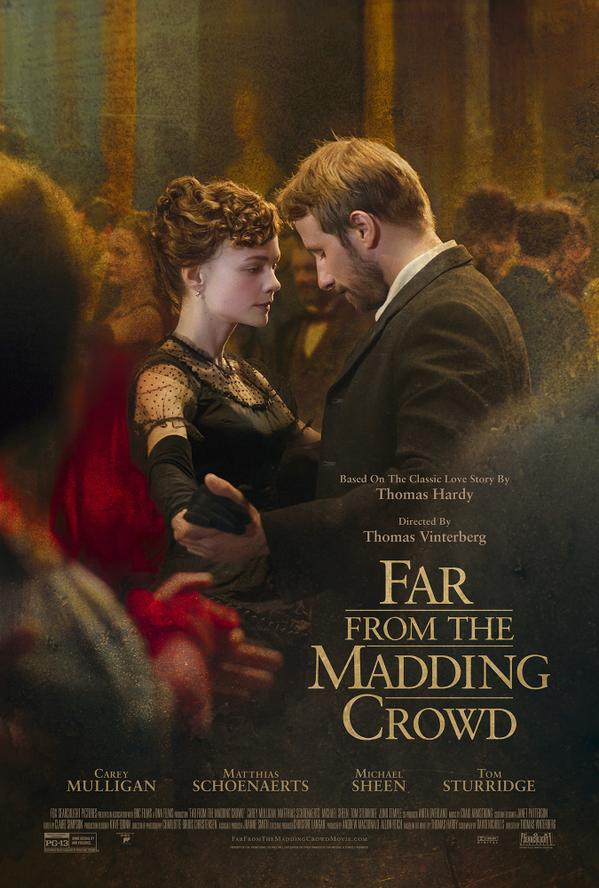 far from the madding crowd 2015 poster