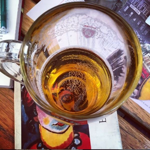 beer glass photography